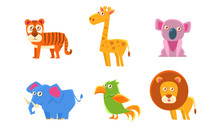 Collection Of Cute Exotic Anim...