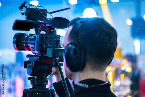 Obraz na plátně  Video operator