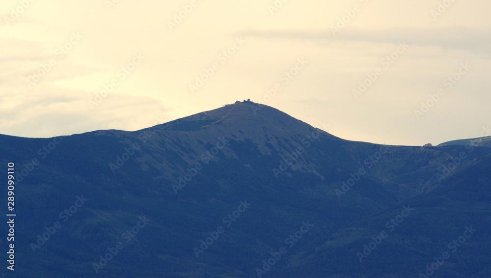 Mount Sniezka, queen of the Sudetes