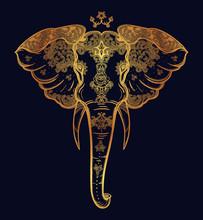 Decorative Elephant With Beaut...