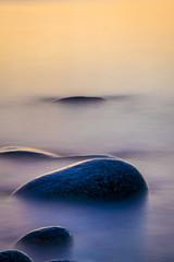 Fototapeta na wymiar Ocean shoreline seascapes on Cape Island