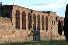 Aurelian Walls In Rome, Italy