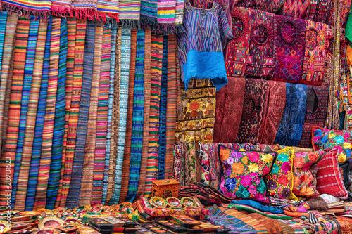 Fototapety, obrazy: Chichicastenango, Market, Guatemala