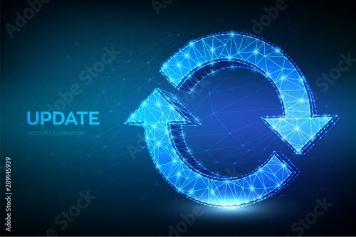 Fototapeta  Update or Synchronization icon