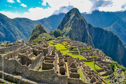 Lost city of the Incas Canvas Print