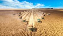 Corn Harvesting Machines, Sync...