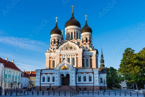 Obraz Alexander Nevsky Cathedral in Tallinn; Estonia - fototapety do salonu