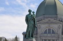 St. Joseph And Baby Jesus Statue