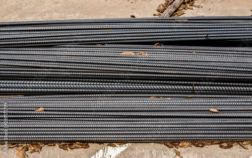 Material, Building - Activity, Construction Industry, Construction Site, Steel Fototapeta