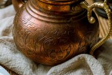 Old Copper Turkish Tea Kettle