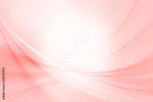 Fototapeta アブストラクト ダイナミックな曲線の構成(ピンクの背景)  obraz