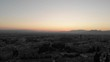 Spain Granada sunset afternoon with a drone. views of la Alhambra and Granada city centre in 4k 24fps