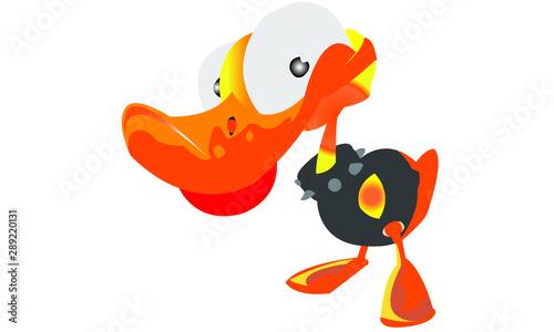 donald duck Canvas Print