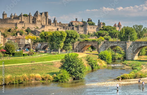Carcassonne, France Canvas