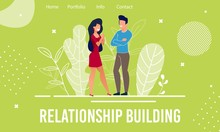 Landing Page Offers Help In Relationship Building