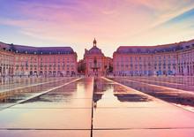 Colorful Sunset At Place De La...