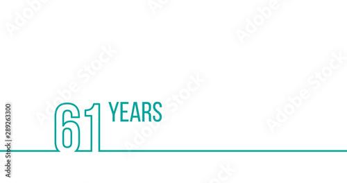 Tela  61 years anniversary or birthday