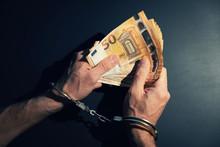 Financial Crime Concept - Cuff...