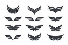Wings Vector Collection. Eagle...
