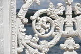 Rococo Gate Closeup Detail, Dolmabahce Palace, Istanbul