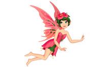 Beautiful Flower Fairy Vector ...