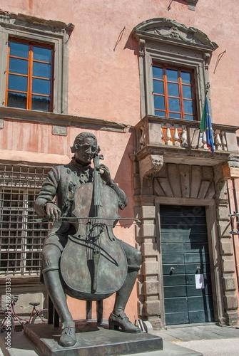Luigi Boccherini statue Poster Mural XXL