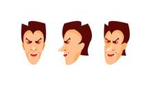 Vampire Head Vector