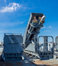 Tomahawk Missile Launcher At Battleship New Jersey