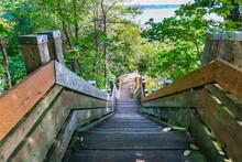 Marine View Park Stairs 2