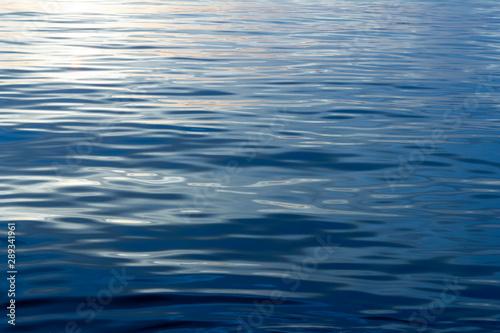 Fototapeta ripples on surface of water obraz