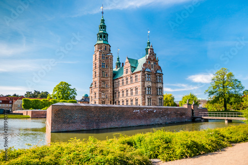 The Rosenborg Castle in Copenhagen, Denmark Canvas Print
