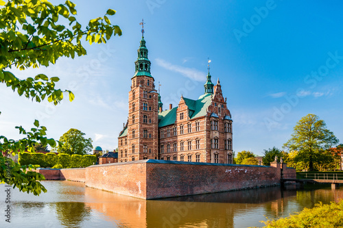 The Rosenborg Castle in Copenhagen, Denmark Wallpaper Mural