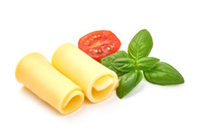 Rolled Maasdam Cheese Slices, ...