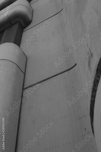 Montage in der Fensternische Darknightsky Modern concret