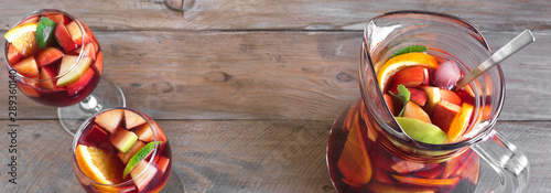 Fototapeta Red Wine Sangria obraz