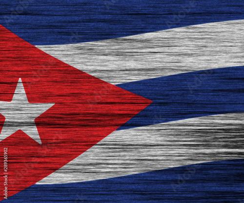 DISTRESSED FLAG DENMAR Canvas Print