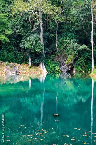 Poster Nouvelle Zélande Khun Num Morakod pool in Tham Luang Khun Nam Nang Non national park
