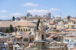 View from the bell tower of the Lutheran Church of the Redeemer in the Old City in Jerusalem, Israel
