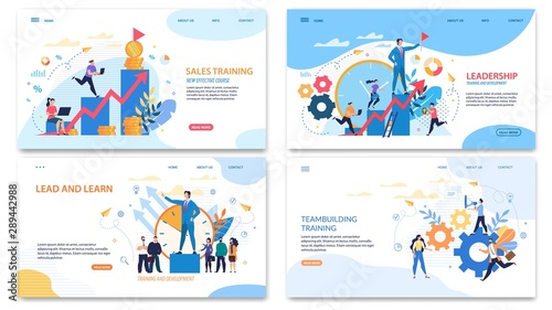 Prompt Banner it Written Sales Training Courses. Fototapete