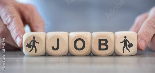 Fototapety, obrazy: Concept of job