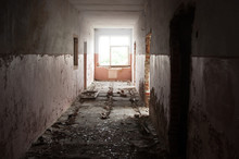 Abandoned Rooms In The Corrido...