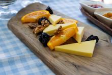 Vegan Cheese Platter With Slic...