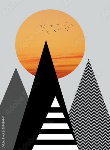 Góry ilustracja