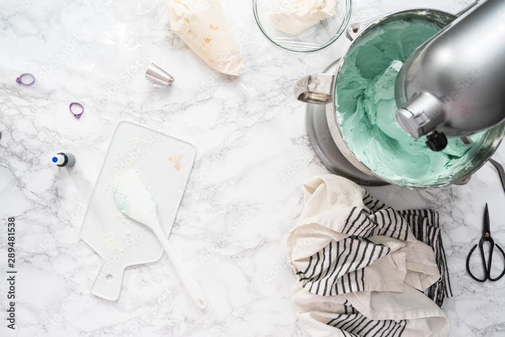 Fototapety, obrazy: Buttercream frosting