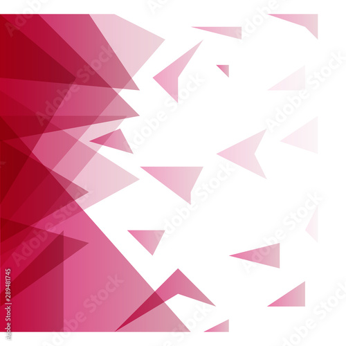 Abstract blurred background with hipster triangles. Wall mural