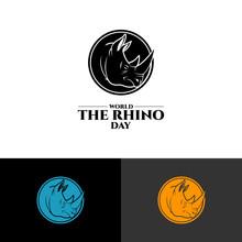World Save Rhino Day Design Ve...