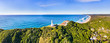 canvas print picture - D Byron Bay LIghthouse short top pan