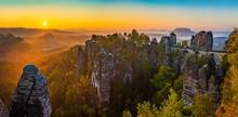 Sonnenaufgang Auf Der Bastei I...