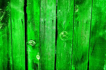 green vertical old wooden desks as pattern