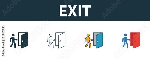 Foto Exit icon